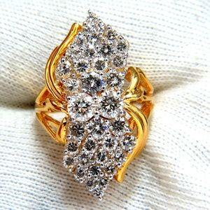 3.50ct Natural Diamonds Rounds Cocktail Prime